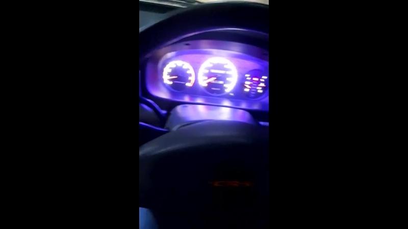 Подсветка шкал и стрелок. Honda CR-V.