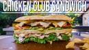 The Best Chicken Club Sandwich | SAM THE COOKING GUY 4K