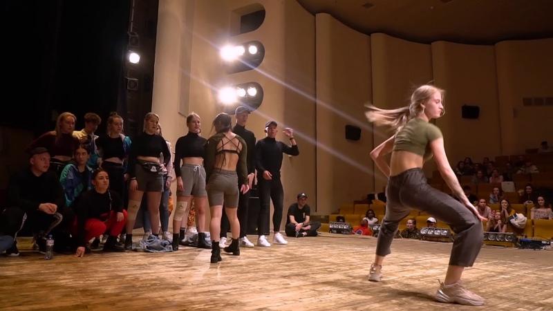 WICKED ZONE 2019 DANCEHALL 2x2 MAYER ANNA and ROCKACHEVSKAIA ULIA vs BLACK ROGEN 1 2