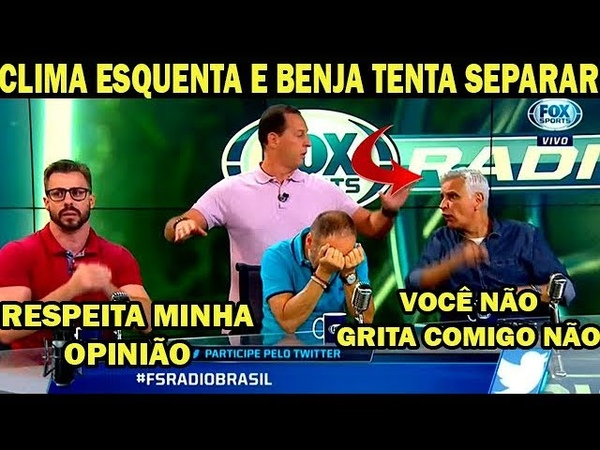 TRETA!! CLIMA ESQUENTA ENTRE SORMANI E FACINCANI E QUASE BRIGAM AO VIVO NO FOX SPORTS RÁDIO (21/09)