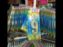 Тортовые свечи Омский Свечной на подставке-карусели