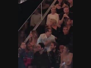 Барбара и Дилан на показе Victoria's Secret