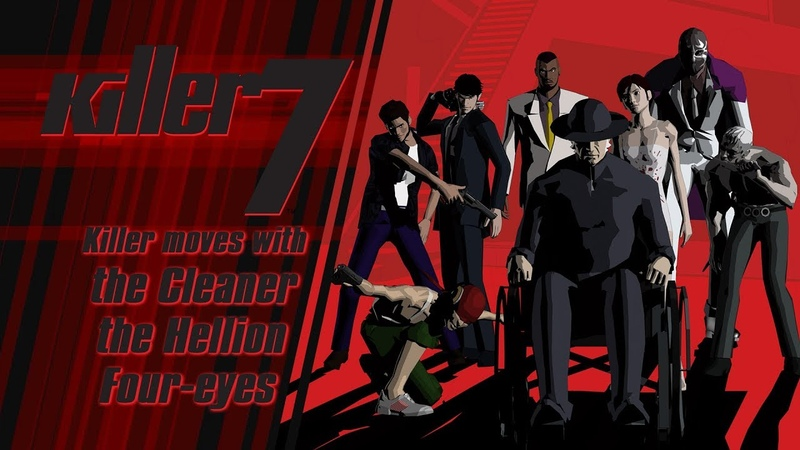 Killer7 - Killer moves with the Cleaner, Hellion, and Four-eyes (Steam)