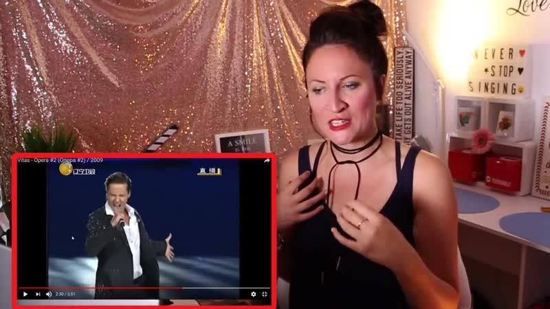 Vocal Coach REACTS to VITAS- OPERA 2