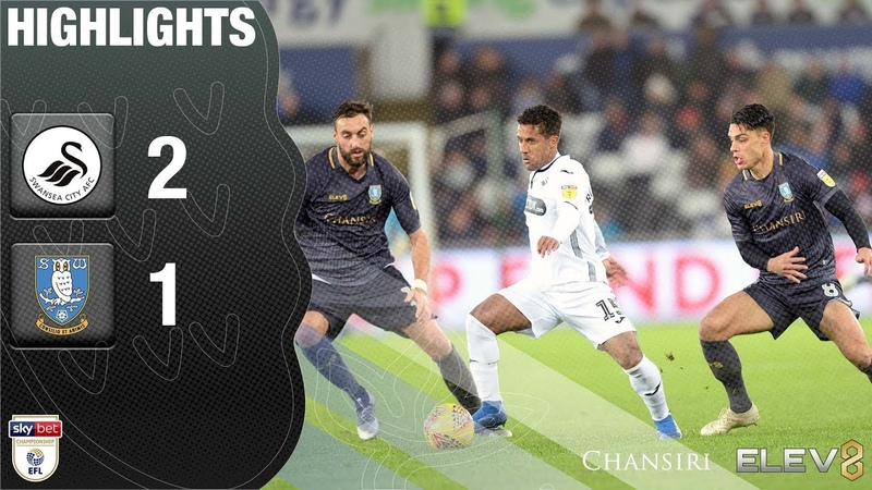 Swansea City 2 Sheffield Wednesday 1 | Extended highlights | 201819