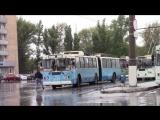 Троллейбус ЗиУ-620520 поездка по 21 маршруту (город Тольятти)