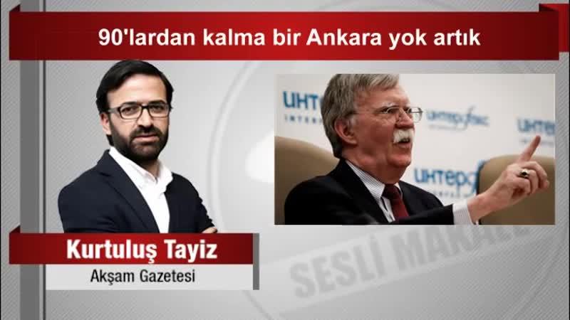 Kurtuluş Tayiz 90'lardan kalma bir Ankara yok artık