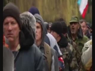 В феврале 2014 г. ребята из Крымского Народного ополчения приняли присягу на верность народу Крыма