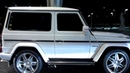Dubai's only 2-door (fake) G63 AMG Mercedes-Benz with Brabus rims