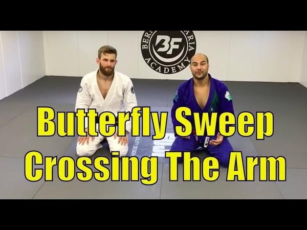 Butterfly Sweep Crossing The Arm by Adam Wardziński