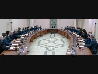 حديث الرئيس الأسد خلال ترؤسه اجتماع الحكومة اليوم 29-11-2018