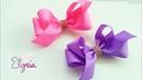 Laço Boutique Assimétrico 🎀 Ribbon Bow Tutorial 🎀 DIY by Elysia Handmade