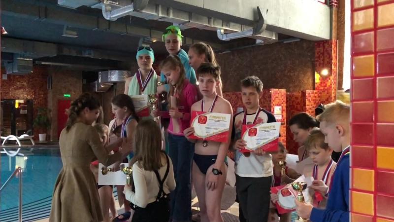 Детские соревнования «Кубок по плаванию 2018» в С.С.С.Р. Жулебино