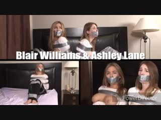 Blair Williams and Ashley Lane Bound and Gagged