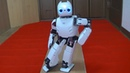 Experiment of natural walking and turning by a humanoid robot