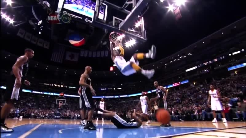 The Top 10 NBA Dunks Of All Time