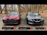 2019 Toyota Avalon Vs Nissan Maxima  Which Big Sedan Is Better