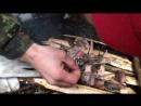 Курс выживания от Чеурина. Разведение костра сырыми спичками и дровами