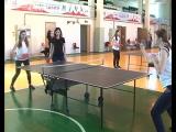 Курские студенты сразились в настольный теннис