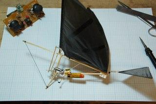 Собираем простой радиоуправляемый орнитоптер./How to make a simple RC Ornithopter cj,bhftv ghjcnjq hflbjeghfdkztvsq jhybnjgnth./