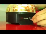 Свето-музыка - Диско шар c MP3 плеером LED Ball Light(0).mp4