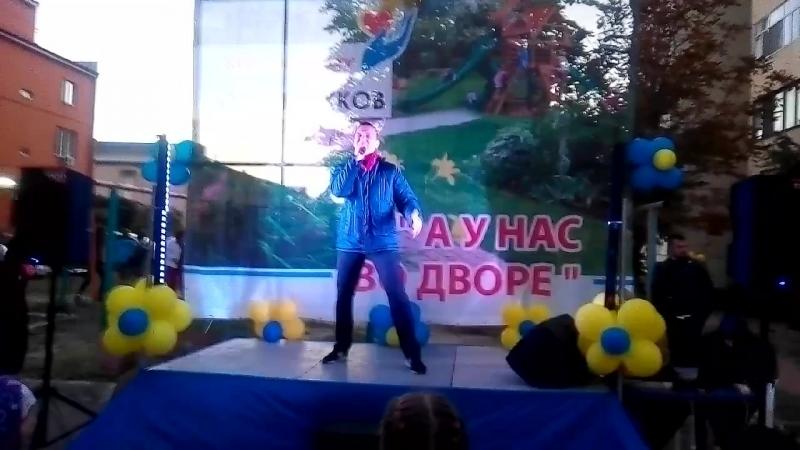 Антон Лазаренко - Нино (live cover perfomance with Oleg Vinnik song)
