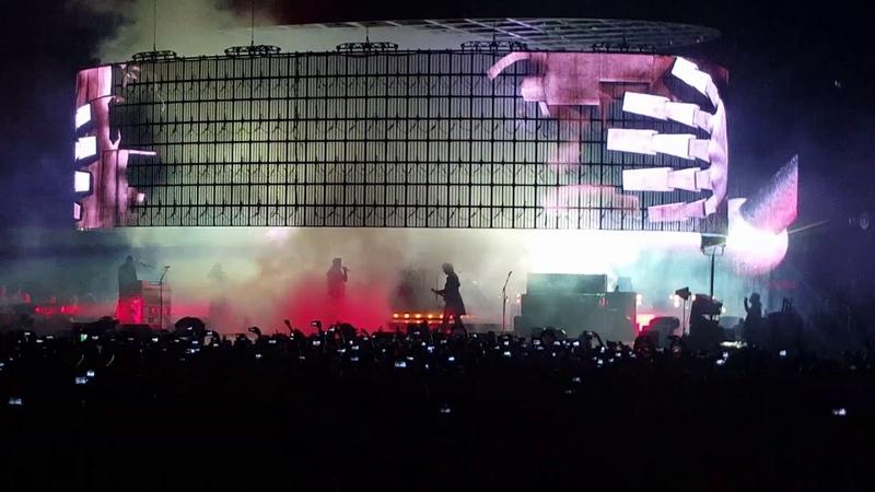 Queen Adam Lambert 1062018 Barcelona , Aperture with Frank