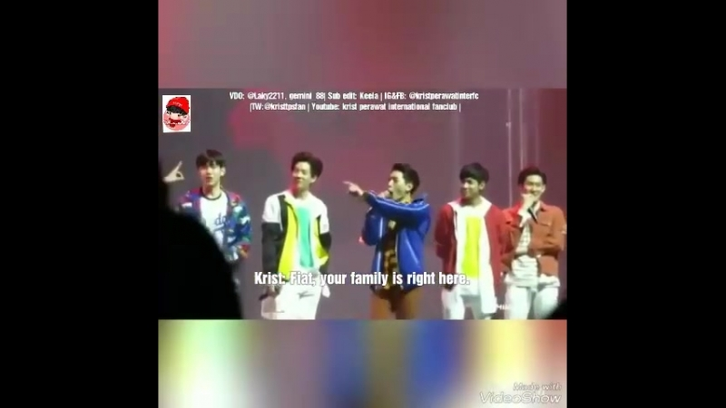 Eng Sub Krist RP as mom mom can flirts with dad but son cant flirt😂
