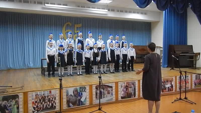 Открытый конкурс-фестиваль хорового исполнительства Цветок на ладони_2019_выступление в школе №109.