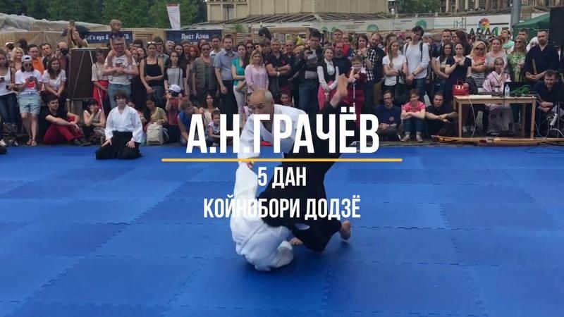 Aikido. Grachev Alexandr 5th Dan AIKIKAI