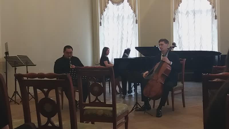 20 ноября 2018 Концерт ансамблей кафедры духовых и ударных инструментов