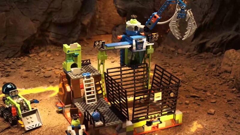 LEGO Power Miners - Claw Catcher 8190 to LavaTraz 8191