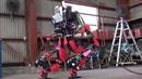 SCHAFT : DARPA Robotics Challenge 8 Tasks Special Walking
