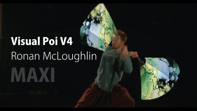 Visual Poi V4 MAXI - Ronan McLoughlin   Pyroterra Lighttoys