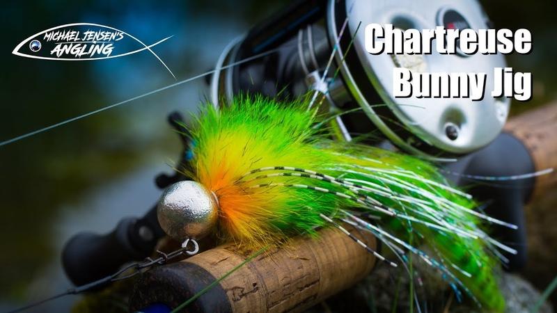 Chartreuse Bunny Jig hair jig tying