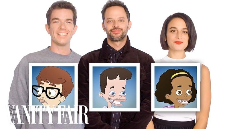 John Mulaney, Nick Kroll, and Jenny Slate Recap Big Mouth Season 1 in 10 Minutes | Vanity Fair