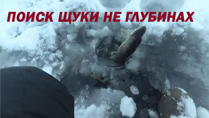 Ищем щуку на глубинах Рыбалка на жерлицы на Воронежском водохранилище