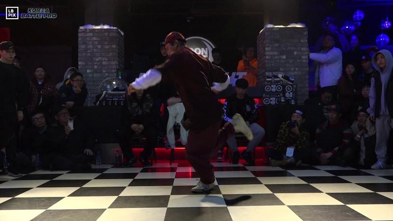 GAMBLERZ vs SOUL BURNZ Crew Top8 @ KOREA BATTLE PRO 2019 LB-PIX