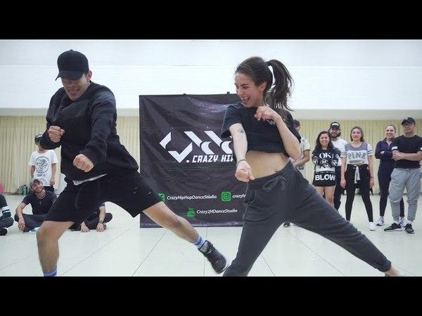 Bailame (Remix) - Yandel ft Bad Bunny Nacho - Choreography by Adrian Rivera ft Daniela Brito