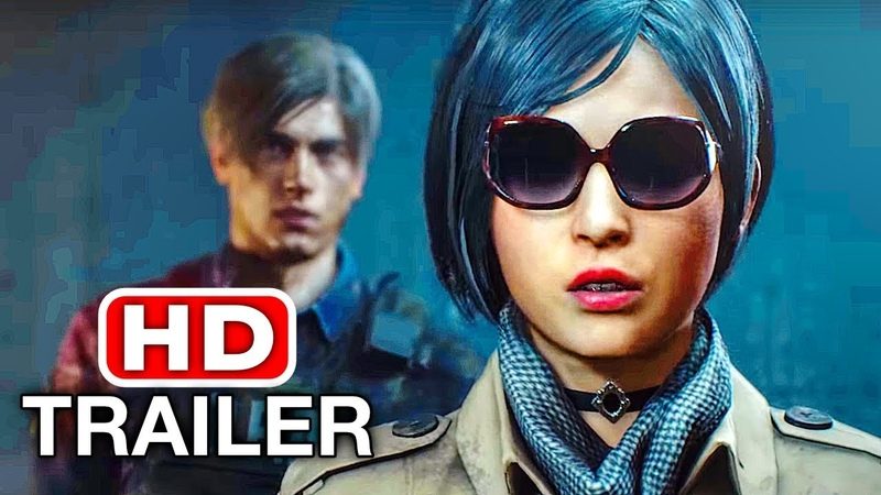 RESIDENT EVIL 2 REMAKE Ada Wong Trailer NEW TGS 2018 PS4 Xbox One PC