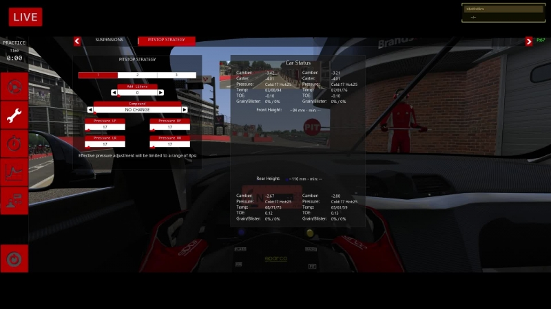 VK LIVE SRS Brands Hatch @ Maserati GranTurismo MC GT4 - LIVE ONBOARD