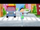 СБОРНИК - Пять веселых развивающих песенок мультиков для детей малышей про трактор и не только