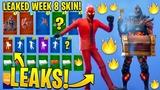 *NEW* All Leaked Fortnite Skins & Emotes..! (Week 8 Ruin Skin, Inferno, Reflex Style, Dream Feet..)