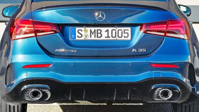2020 MERCEDES A 35 AMG SEDAN – Design, Interior, Driving
