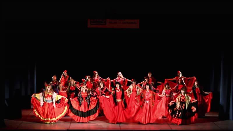Ансамбль В мире танца - Цыганское солнышко и Шаленочка