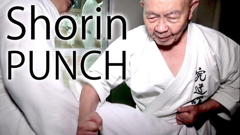Minoru Higa's practice 1 | PUNCH | 比嘉稔先生 | 小林流究道館|初心者向け沖縄伝統空手