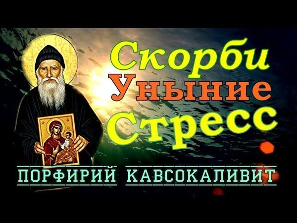 Сильно РАССТРАИВАТЬСЯ означает впадать в сеть ДЬЯВОЛА - Порфирий Кавсокаливит