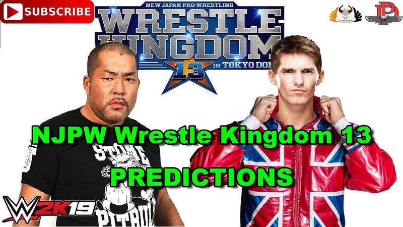 NJPW Wrestle Kingdom 13 British Heavyweight Championship Tomohiro Ishii vs. Zack Sabre Jr. WWE 2K19