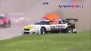 Самые жесткие аварии на гоночных треках
