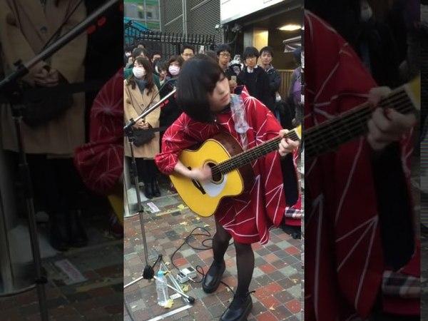 【酸欠少女さユり】12.10 街頭彈唱 西武新宿站pepe前廣場